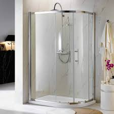 bathroom modern bathroom design with corner shower kit and