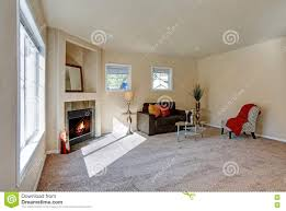 typical american living room interior design stock photo image