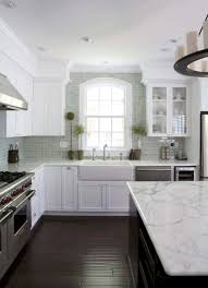 kitchen backsplash with white cabinets and white countertops 30 beautiful and inspiring light filled kitchens with white