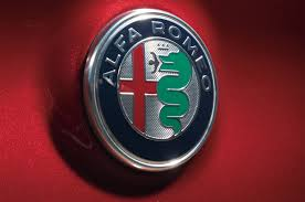 alfa romeo emblem the 2017 alfa romeo giulia meets its predecessors in the wild west