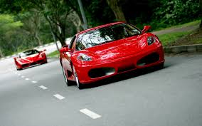 red ferrari red ferrari f430 on the road in singapore wallpapers 2560x1600