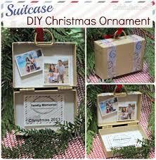 diy ornament stuffed suitcase travel memories