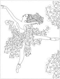 printable 15 ballerina coloring pages 10242 dance ballet