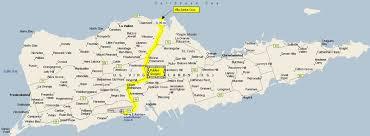 map st croix villa santa driving directions