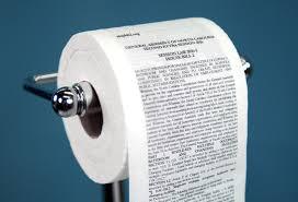 mckinney printed n c u0027s bathroom bill on toilet paper you know