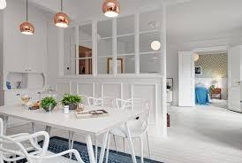 deco cuisine scandinave scandinave dans un appartement à gothenburg