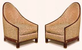 Art Deco Armchair Art Deco Armchair Fabric Macassar Ebony Sc123 By Jacques