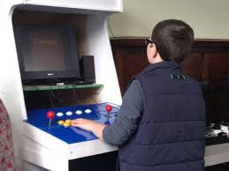 Building A Mame Cabinet Kids Build Raspberry Pi Arcade Cabinetraspberry Pi Projects