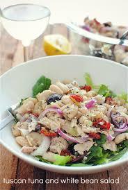 Tuna Salad Mediterranean Style Tuscan Tuna And White Bean Salad Bev Cooks
