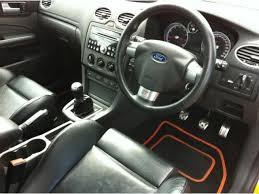 used ford focus st3 used orange ford focus 2006 petrol 2 5 st 3 3dr hatchback in
