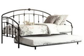Bedroom Sets Gardner White Alex Bronze Daybed With Trundle