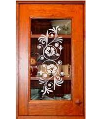 decorative glass cabinet door wesley renee glass design raleigh