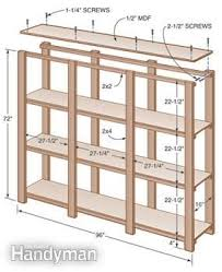 build storage shelves shelves ideas
