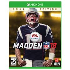 madden nfl 18 g o a t edition xbox one madden nfl xbox and