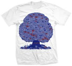 Chicago Flag Apparel Belowthecollar Com T Shirt Burton History Trees Chicago Bears