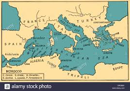 Ancient Map Of Africa by Map Of Ancient Mediterranean Stock Photos U0026 Map Of Ancient