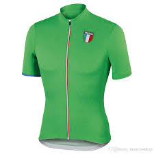 2017 New Mens Italy Cycling Jersey 2016 Pro Team Red Green Gray