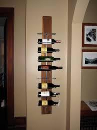ideas fancy wall mounted wine racks for wine organizer idea