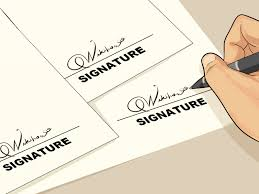 signature the best way to make a cool signature wikihow