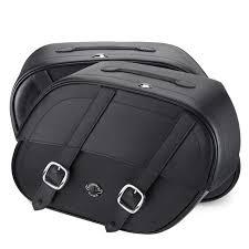 honda magna honda magna 750 motorcycle saddlebags shock cutout leather straps