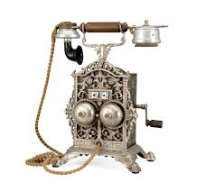 telephone bureau a table telephone by elektrisk bureau kristiania 19th