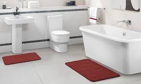 Memory Foam Bathroom Rug Set 2 Memory Foam Bath Rug Set Groupon Goods