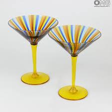 wine glasses u0026 flutes collection original murano glass omg
