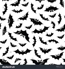 Halloween Bat Stencils by Cartoon Bats Seamless Pattern Theme Halloween Stock Vector