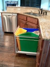 kitchen island trash kitchen trash can storage cabinet garbage can storage cabinet