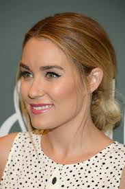 the lauren conrad way to make pulled back hair even cuter glamour