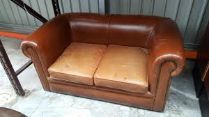 Second Hand Sofas Amazing Second Hand Vintage Brown Leather Sofa In Interior Home