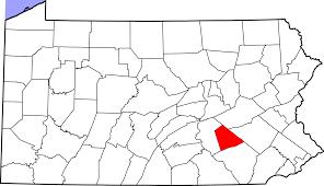 Lebanon Hills Map File Map Of Pennsylvania Highlighting Lebanon County Svg
