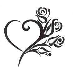 38 best heart tattoo design template images on pinterest beading