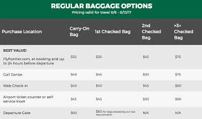 frontier baggage fees i flew frontier airlines and it was just fine trips with tykes