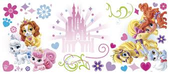 disney princess palace pets giant wall stickers stickers for disney princess palace pets giant wall stickers