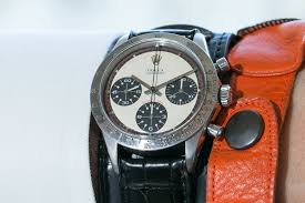 bentley rolex paul newman u0027s rolex daytona sells for a record breaking 17 75