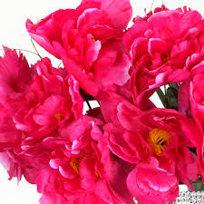 wholesale peonies 12 silk peony bushes wedding flowers peonies bouquets wholesale