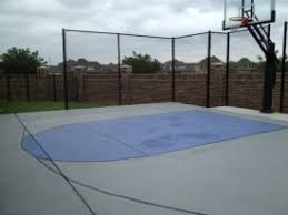 Half Court Basketball Dimensions For A Backyard by Pictures Of Basketball Courts In The Backyard