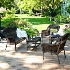 Wicker Resin Patio Chairs Artificial Wicker Patio Furniture Synthetic Rattan Chairs Large