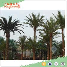 new products artificial outdoor lighted plastic date palm tree for