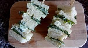 cuisiner le cresson brochettes de sandwichs au cresson angleterre la tendresse en