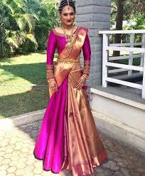Different Ways Of Draping Dupatta On Lehenga Half Saree Styles 7 Ways To Wear Half Saree With Lehenga