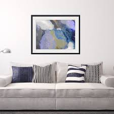 abstract framed wall art rectangle 41 contemporary frames