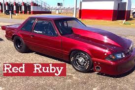 fox mustang drag car build casey smith s nitrous x fox mustang