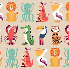 octopus wrapping paper colourful creatures wrap 5 sheets dotcomgiftshop