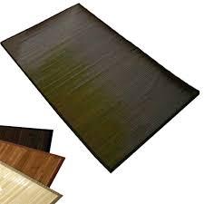 teppich 300 x 400 bambusmatte bambusteppich teppich bambus 80 x 300 dunkelbraun