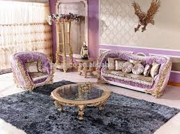 italian luxury living room furniture antique rose solid wood