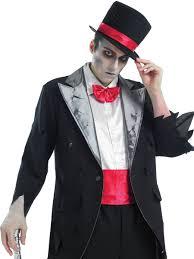 Halloween Costumes Bride Groom Corpse Groom Fancy Dress Party