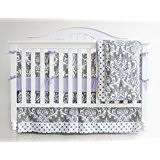 Purple Grey Crib Bedding by Amazon Com Purple Bedding Sets Crib Bedding Baby Products