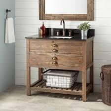 Rustic Industrial Bathroom by Bathroom Rustic Barnwood Vanity Bathroom Vanities And Cabinets
